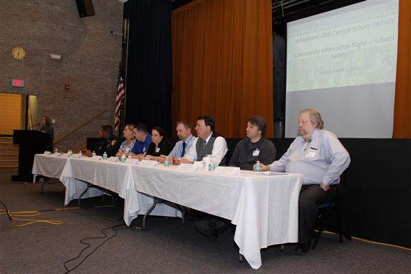 panel of experts discuss school safety